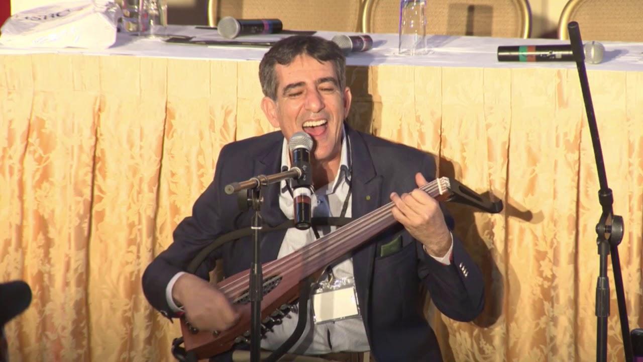 """Photo of Le chanteur célèbre Marocain et ambassadeur de la Culture marocaine, M. Nouamane Lahlou Chante """"Zagora, la belle"""""""
